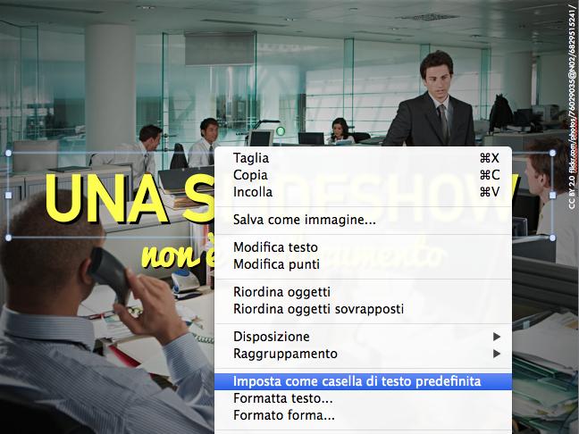 powerpoint-testo-predefinito