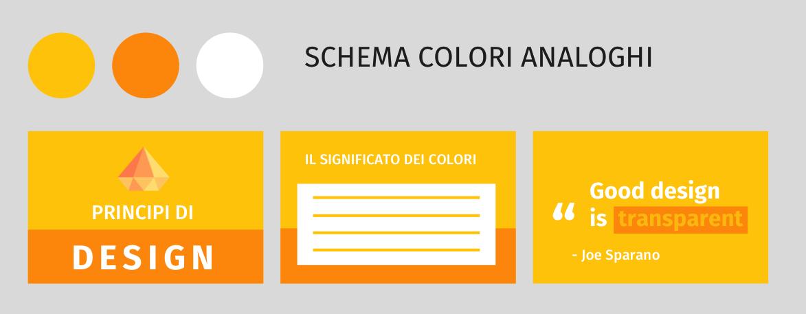 Palette di colori efficace