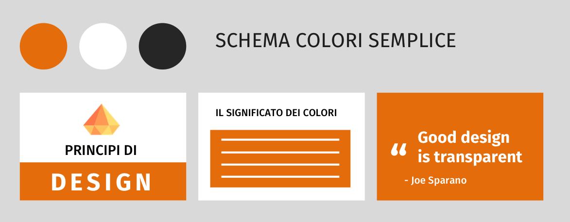 Combinazioni colori Slide